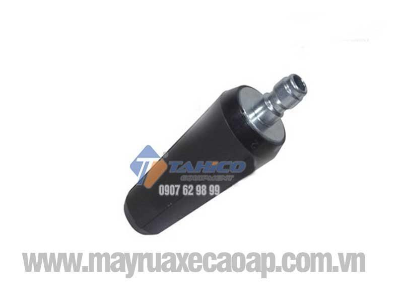 Được làm từ nhựa ABS cứng cáp, lõi trong bằng thép bền bỉ chịu áp lực nước cao
