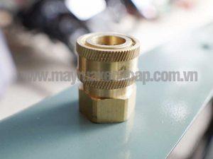 Đầu đồng nối nhanh cho máy cao áp ren 1/2 inch