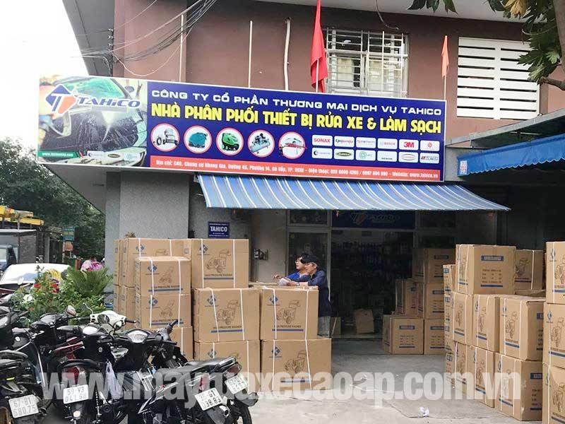 Công ty TAHICO chuyên bán các loại máy rửa xe cao áp