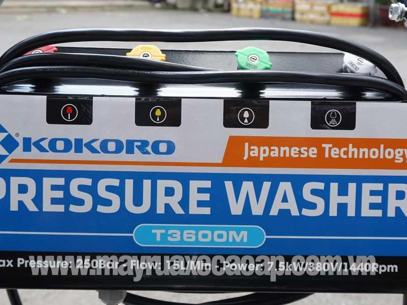 Tem máy rửa xe